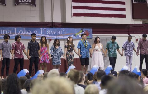 The luau showcased a memorial ceremony for Sarah Wong, who had passed away whilst a part of the club.  Ben Hansen   The Falcon