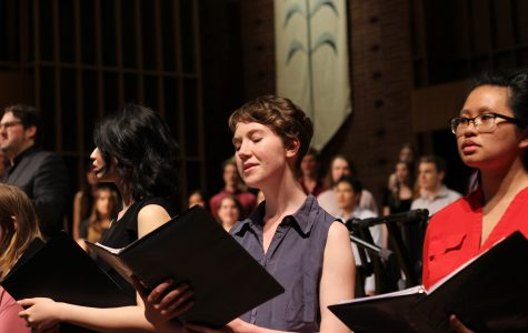 Spring choral concert marks the final all choir performance of the year