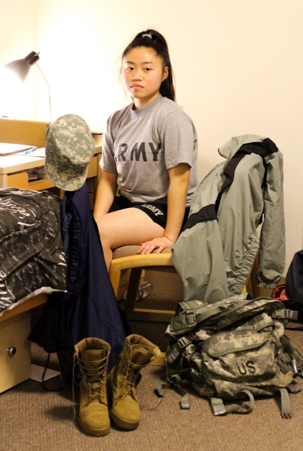 Serving country, gaining education