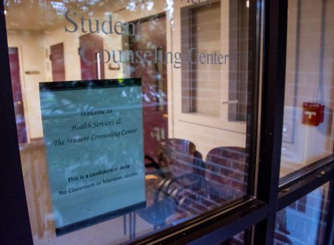The Student Counseling Center is housed in Watson Hall, appointments this quarter are taking place remotely.
