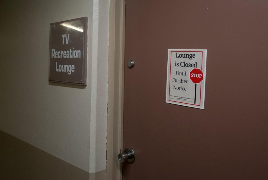 The only co-gender recreational lounge in Ashton is closed along with its small gym.